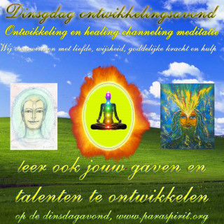 Meditaties & channelings van de Dinsdagavonden  - image
